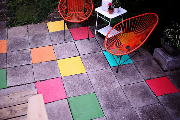 Painted Stone Tiles Add Personality To Your Space
