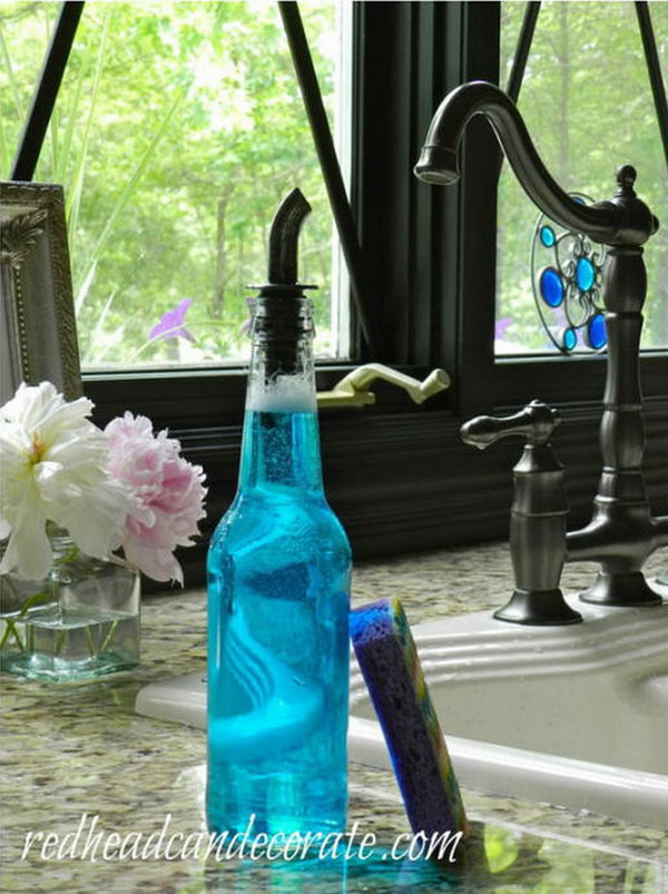 Beer Bottle Soap Dispenser