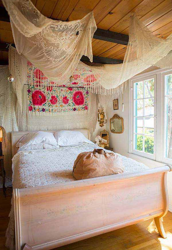 terrific cute bohemian bedroom ideas | 10+ Beautiful Bohemian Bedroom Ideas - Noted List