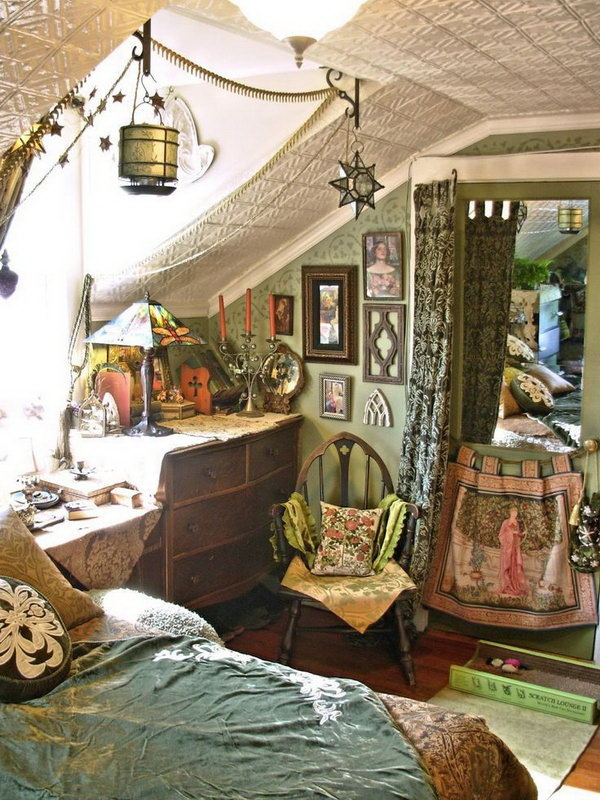 10 beautiful bohemian bedroom ideas noted list - How to decorate a bohemian bedroom ...