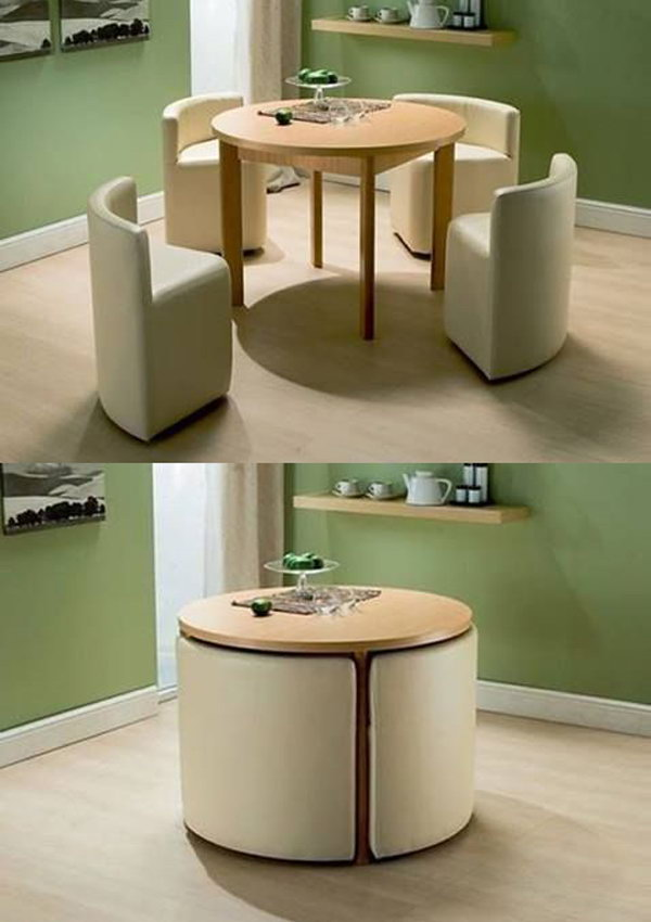 Compact Table For A Small Kitchen