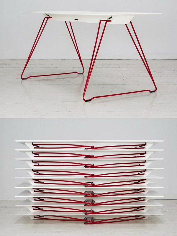 Folding table LUCY by Johanson Design