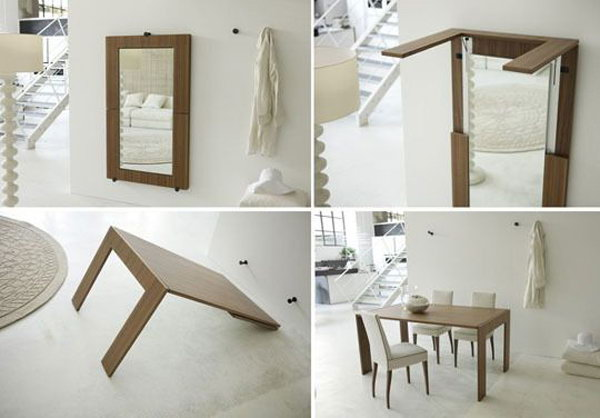 Creative Folding And Expanding Table