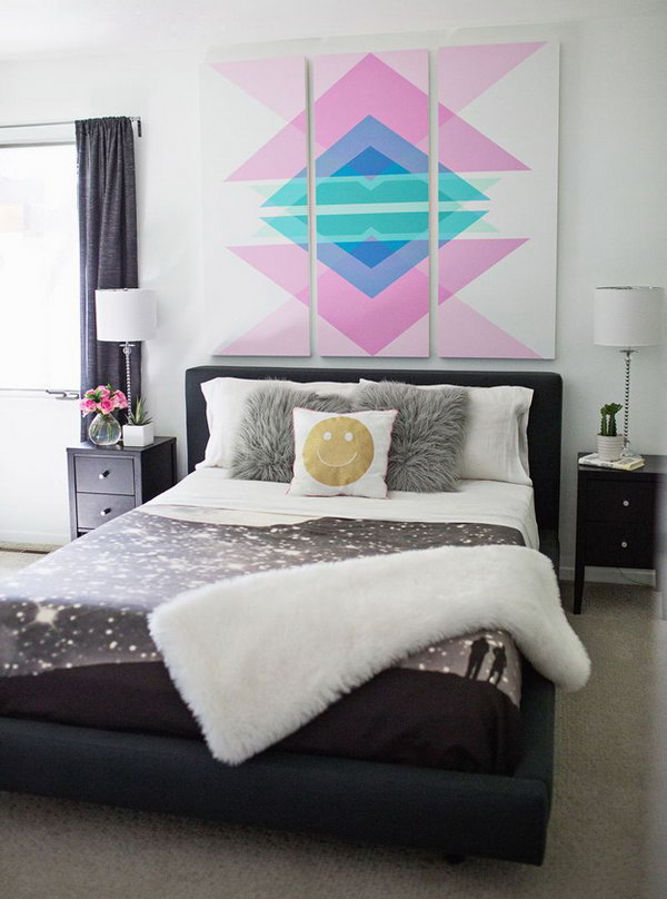 Geometric Art Headboard Panels Instructions