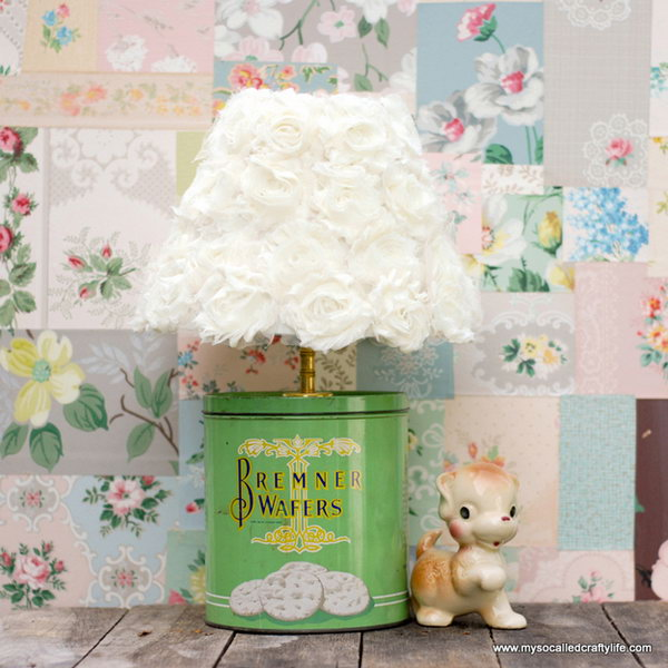 Light Your Room With This DIY Upcycled Vintage Lamp