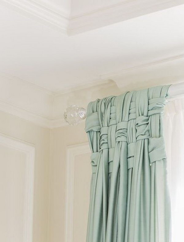 Basket Weave Your Drapes