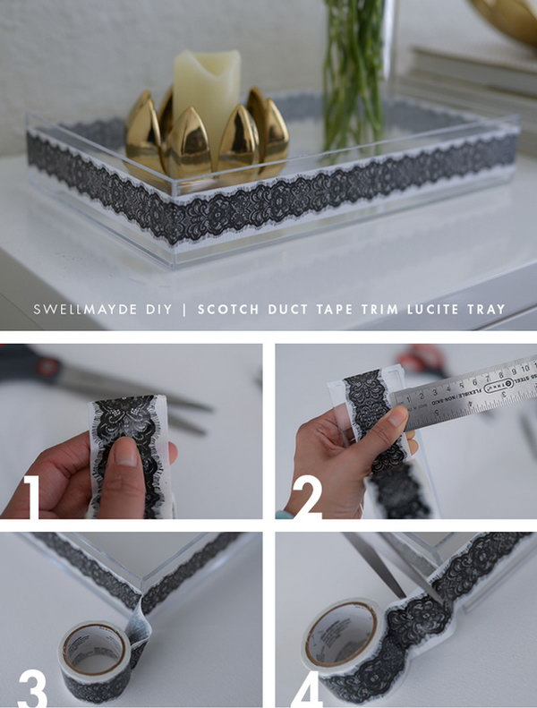 Update Your Room with This DIY Spring Lucite Trays