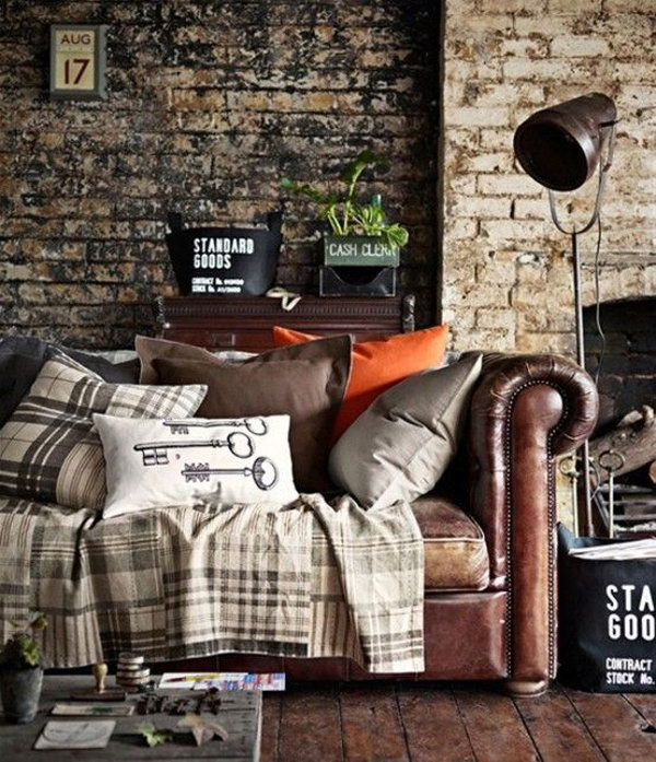 Industrial Vintage Living Room