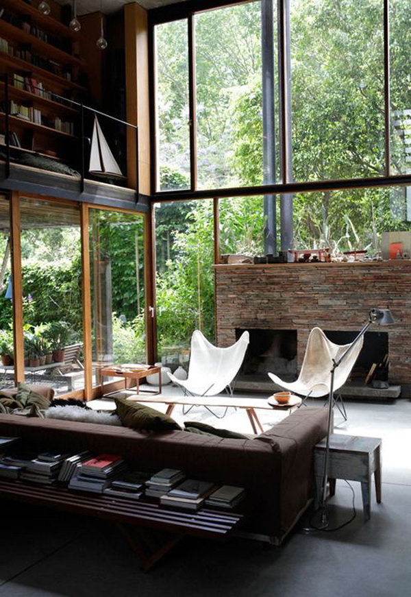 Modern Industrial Living Room Decoration