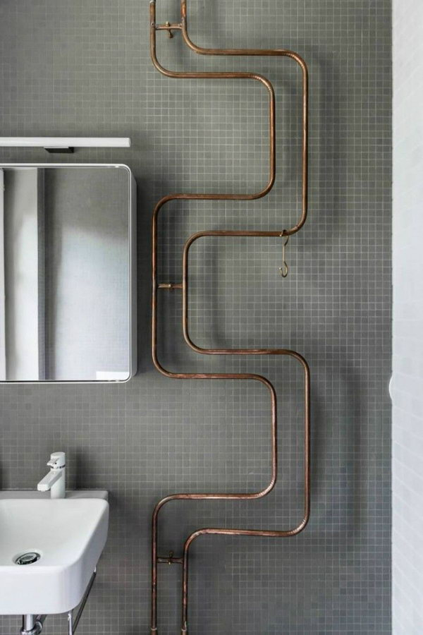 Industrial Bathroom Radiator