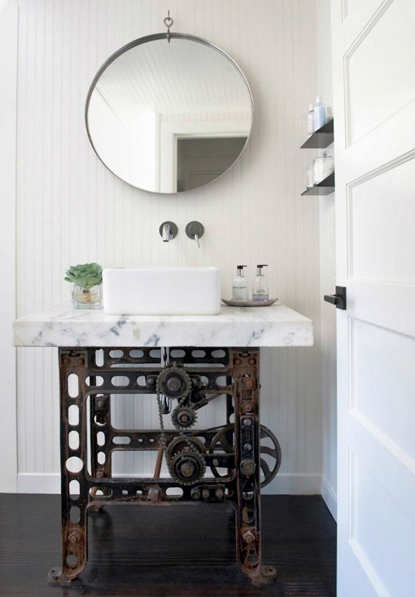 Industrial Bathroom Washbasin