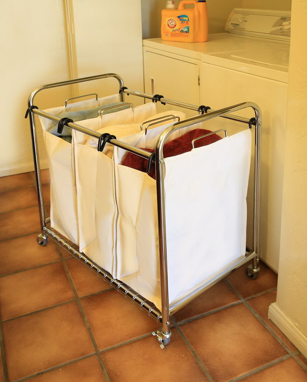 Bag Laundry Sorter Cart