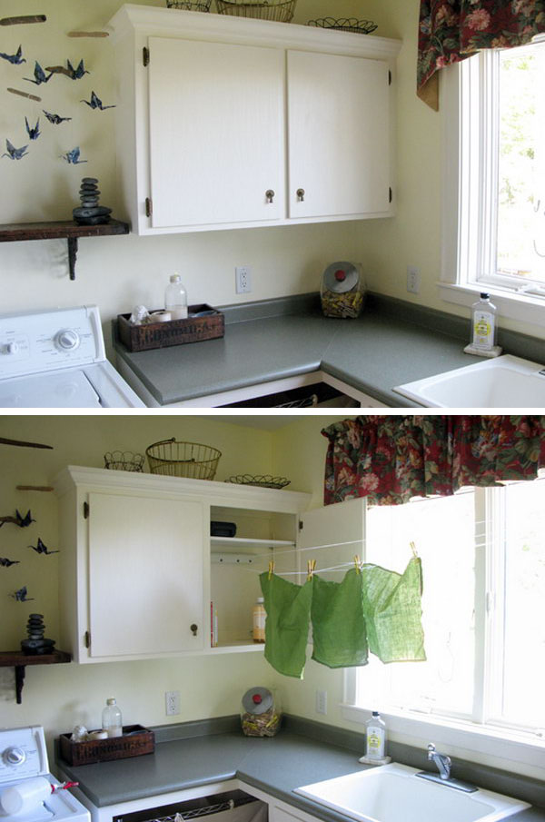 Indoor Retractable Clothesline
