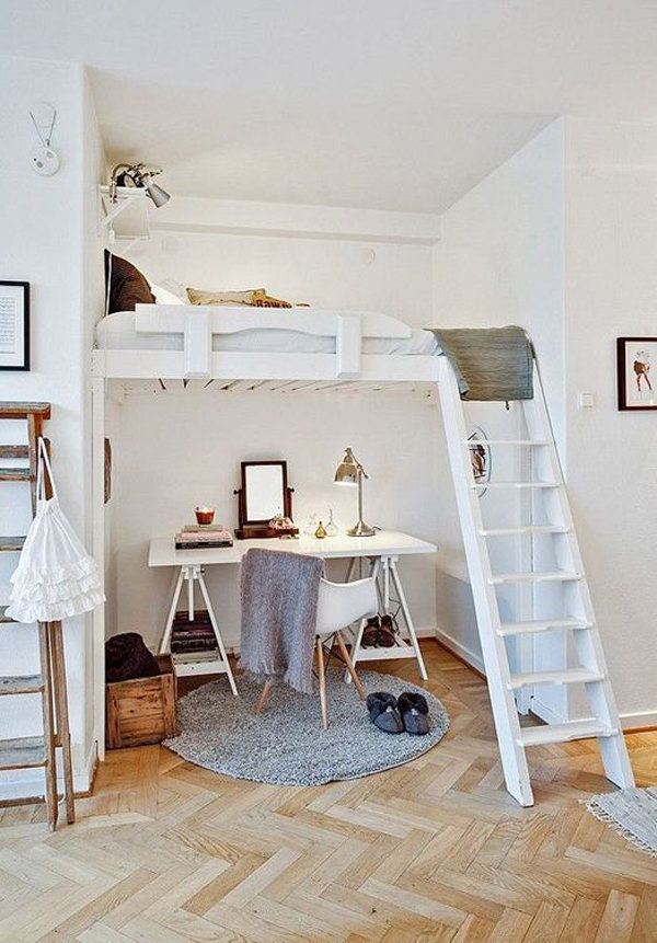 Loft Beds With Worke