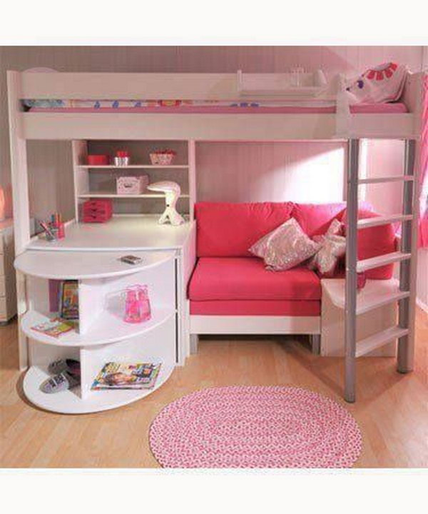 Loft Bed For Girl