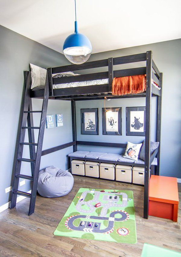 Loft Bed Idea For Kids