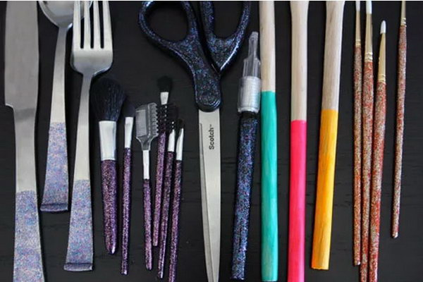 Use Nail Polish to Add Color to Your Tools