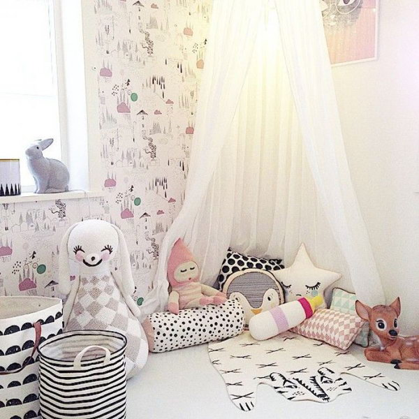 30 Creative And Cozy Reading Nooks For Kids Noted List