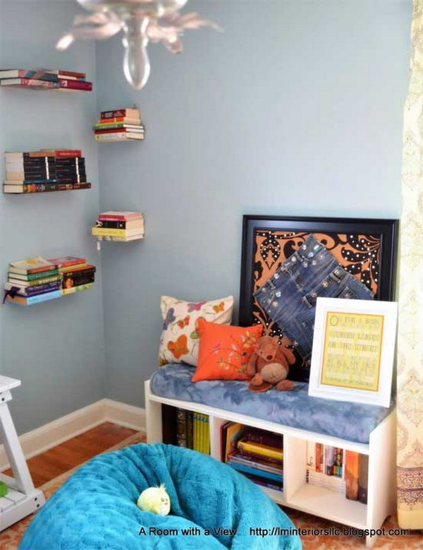 Growing Library Reading Corner