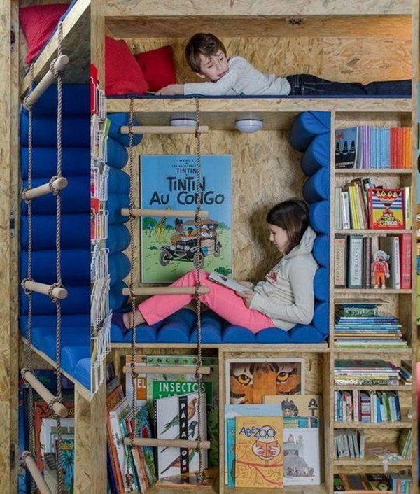 Secret Reading  Nook For Kids
