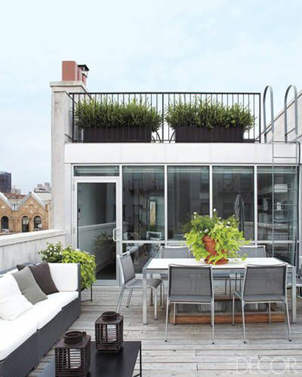 Roof Garden Decor Idea