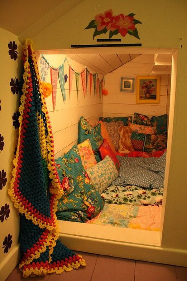 Secret Sleepover Room