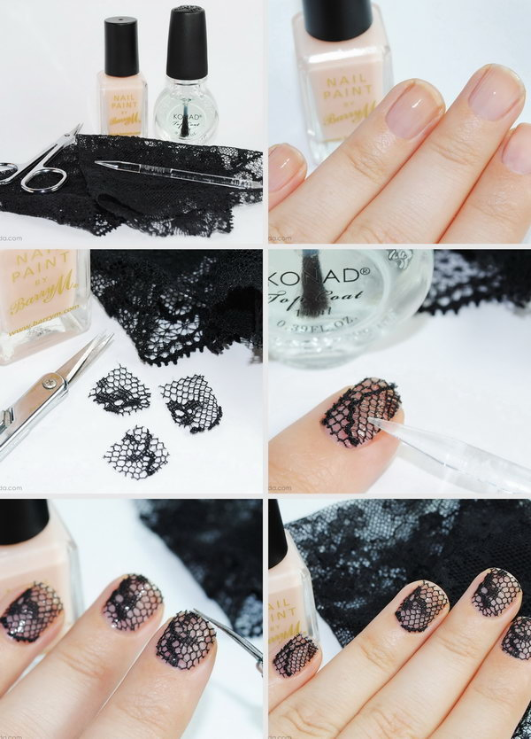22 step by step nail art tutorials