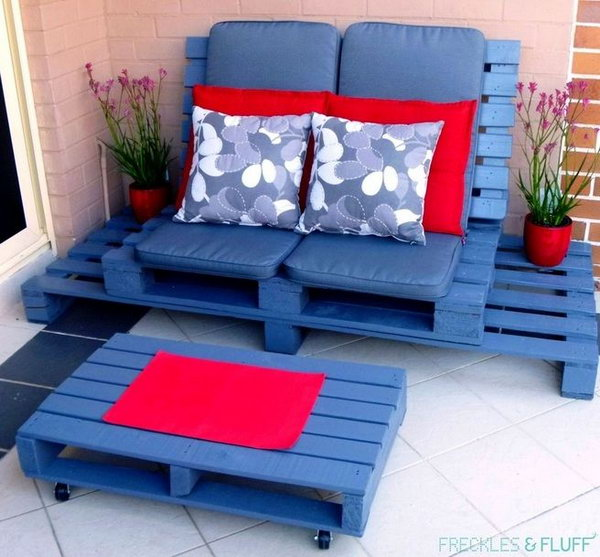 39 pallet furniture project ideas