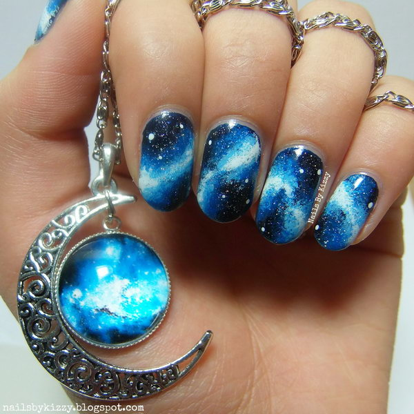 50 Gorgeous Galaxy Nail Art Designs And Tutorials Noted List