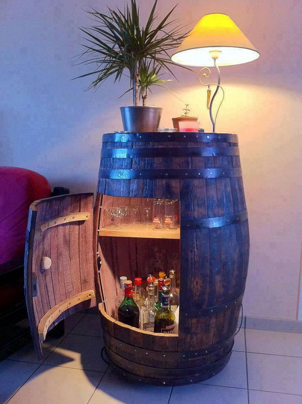 5 wine barrel project ideas