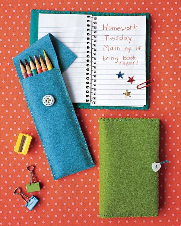 Felt Pencil Case. Find out how