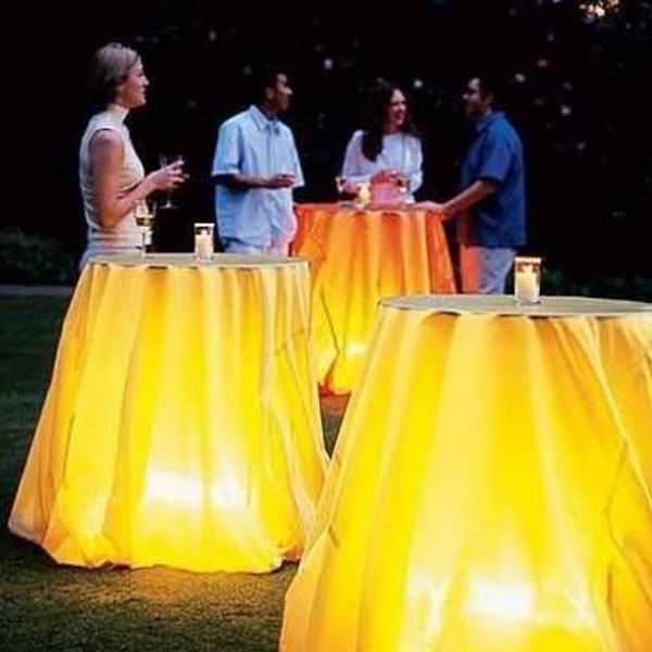 Charming Table Lighting Ideas.