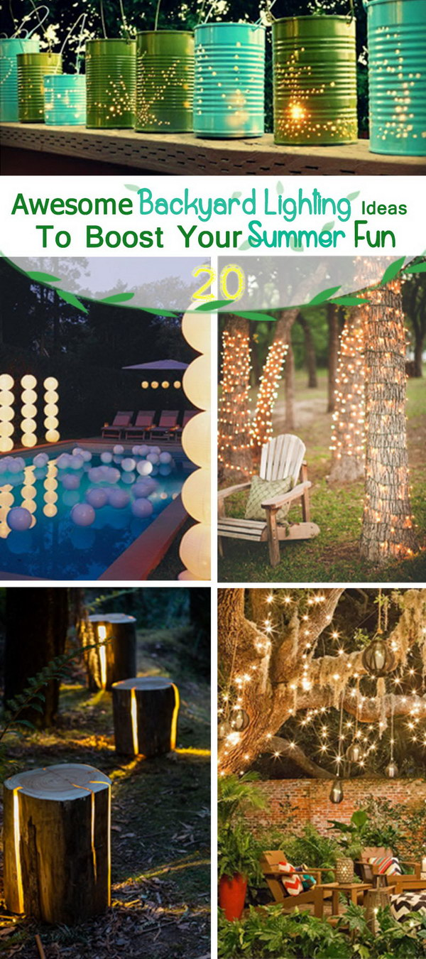 Awesome Backyard Lighting Ideas To Boost Your Summer Fun!