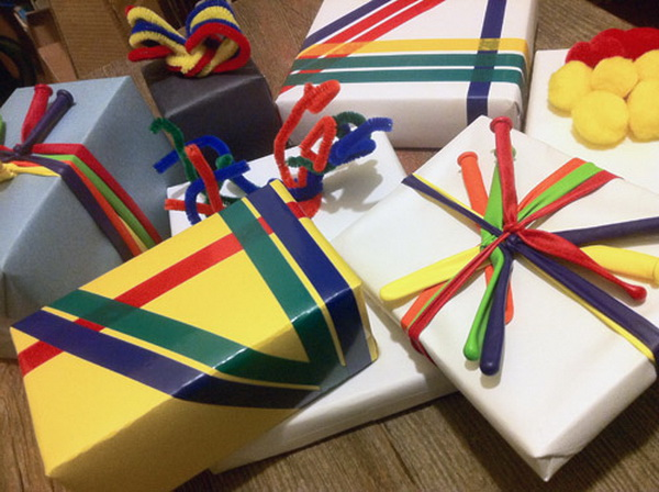 Balloon Gift Ribbons.