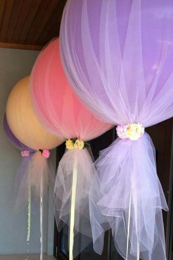 20 beautiful diy balloon decoration ideas noted list for Balloon decoration ideas diy