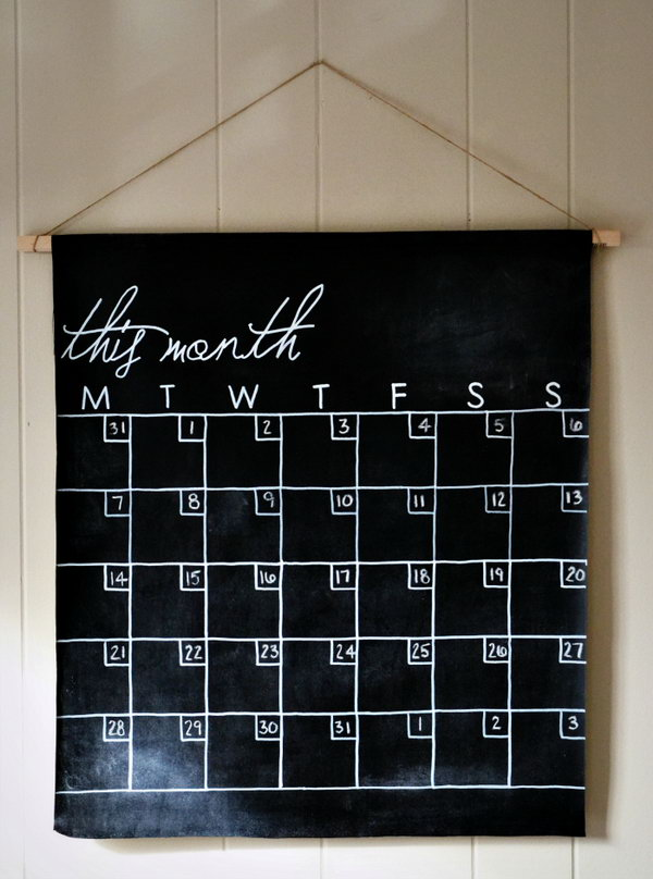 20 Fun And Easy Diy Chalkboard Ideas Noted List