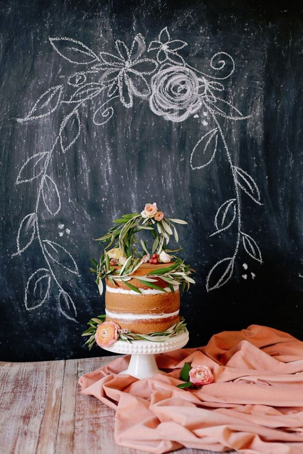 Cake Table Backdrop.