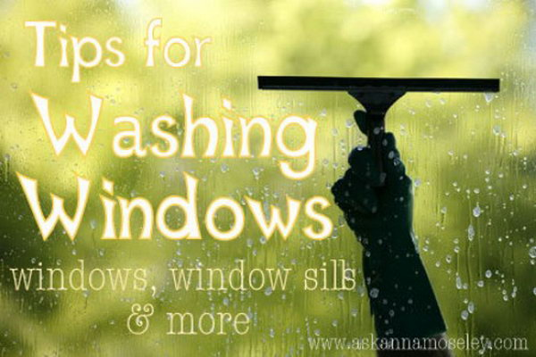 Clean Window Sills With Q Tips