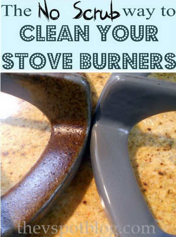 Cleaning Stove Burners And Grates Using Ammonia