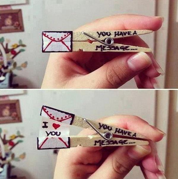 Creative Valentine's Gift.