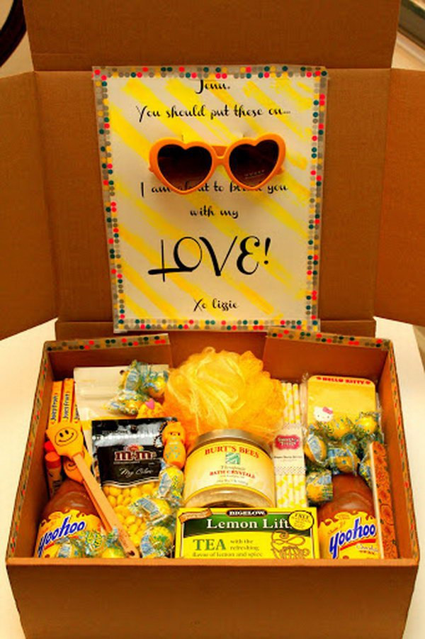 20 Creative College Care Package Ideas Noted List