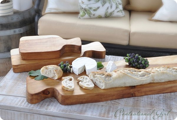 Thick Wood Cutting Boards. Check out the tutorial