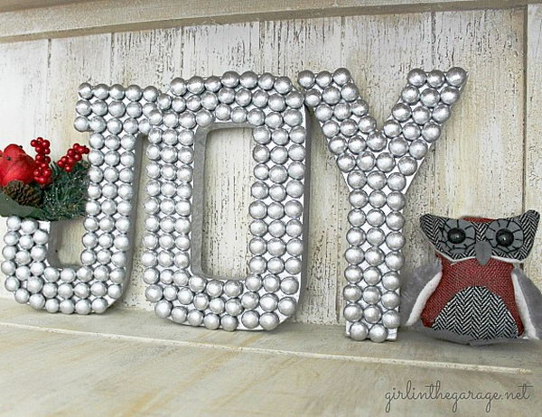 20  creative ideas  u0026 tutorials to make decorative letters