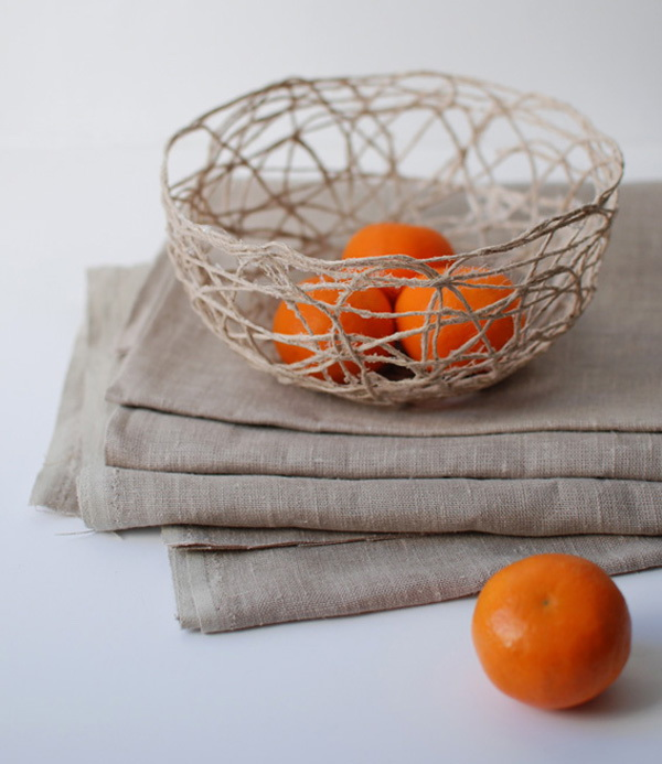 Stunning String Bowl. Get the tutorial