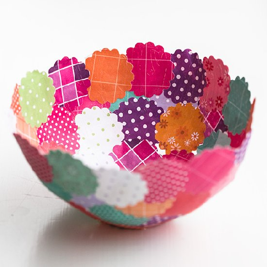 DIY Decorative Paper bowls