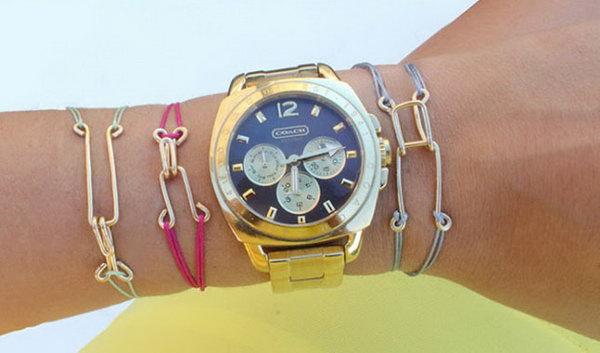 criss cross friendship bracelet instructions