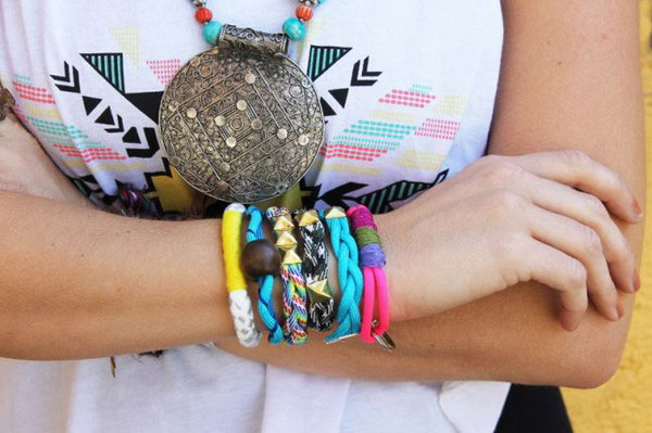 Colorful Rope Bracelets