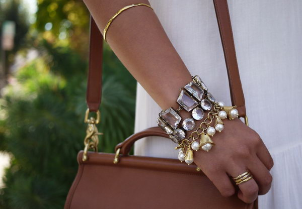 Chandelier Charm Bracelet