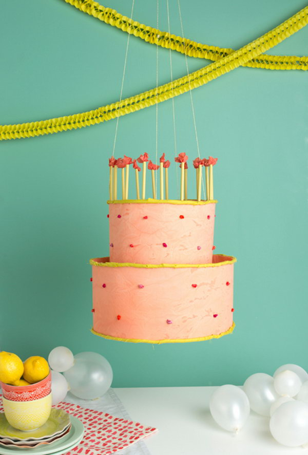Birthday Cake Chandelier.