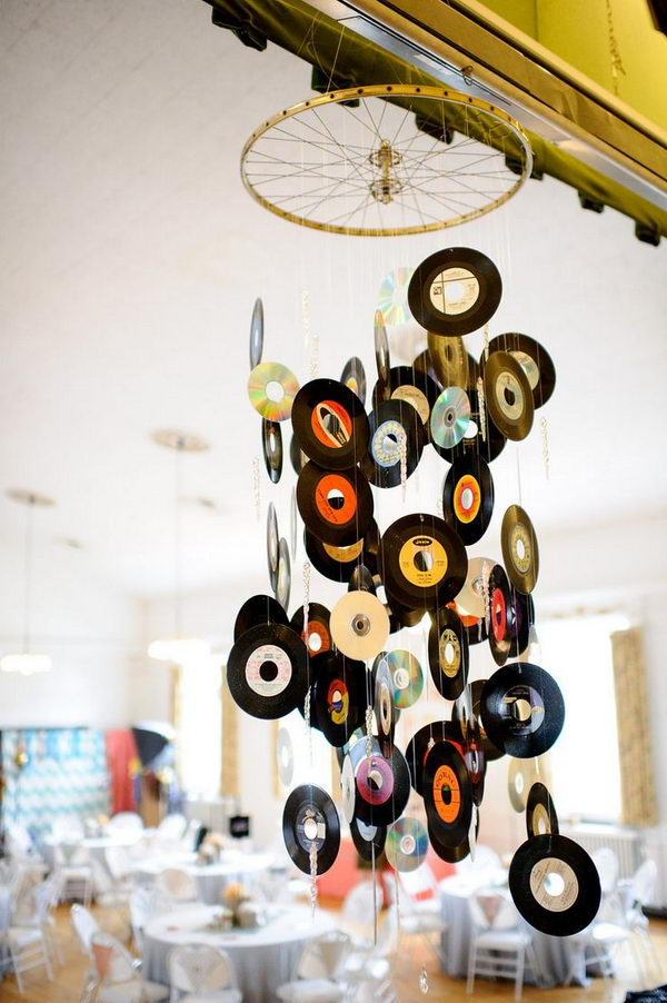 Musical Chandelier Idea.
